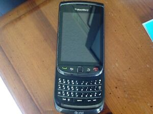 BlackBerry Torch 9800 Black (AT&T) Smartphone For Parts Repairs