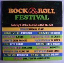 Rock & Roll Festival LP~BB King~Etta James~Ikettes~Jacks~Cadets~Blues Org KENT