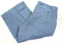 Oneill Womens Size XL Indigo Blue Crawford Crop Pants New with $54 Tags
