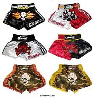 MUAY THAI BOXING Shorts, SKULL & COOL, Size M,L,XL,XXL, Special Price!!!