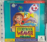 The Learning Company Storybook Weaver Deluxe PC Game Windows 3.1/95 & Macintosh
