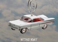 1959 Chevy Impala Hardtop Lowrider Custom Christmas Ornament 1/64 Adorno '62