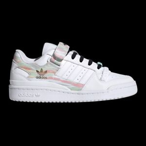 Adidas Forum Low Women's Athletic Casual Trainer Tennis Sneaker White Shoe
