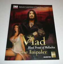 Vlad the Impaler Blood Prince of Wallachia D20 System Rpg Gaming Book D&D 3rd Ed