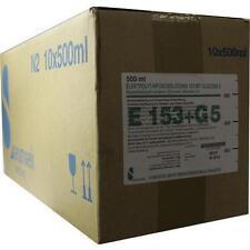 ELEKTROLYT Inf.-Lsg. 153 m. Glucose 5 10X500ml PZN 7510796
