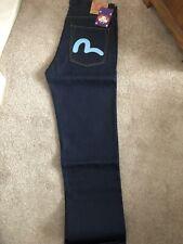 evisu jeans 30w 34L Blue Rare