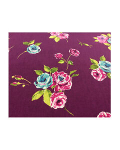 Prestigious Textile Ella in Mulberry Curtain soft furnishing roman blinds Fabric