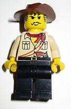 Lego Personnage Adventure minifig Johnny Thunder Egypte du 5988 5978 5958 ...