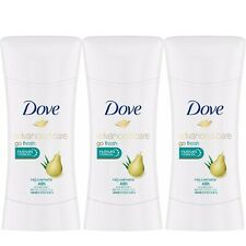 3x Dove Advanced Care Go Fresh Nutrium Moisture Rejuvenate Antiperspirant Pear