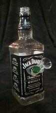New! Jack Daniels Liquor Bottle Bong Tobacco Water Pipe Hookah!