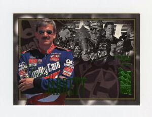 Dale Jarrett 1996 Press Pass VIP Emerald Proof 278/380 Parallel Insert Card #13