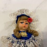 "Vintage Suora Carita Pisa Doll Made In Italy 1968/70 5"""