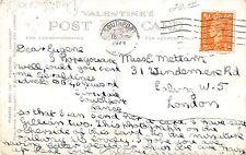 United Kingdom Southport Lakeside Miniature Railway Antique Postcard V7502
