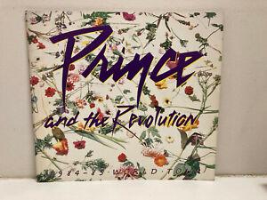 Prince and the Revolution Purple Rain 1984-85 World Tour Concert Book