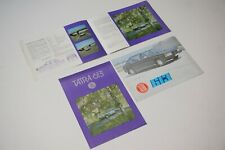 Tatra 613 Prospekt / Verkaufspapiere / Broschüre / Katalog /  Catalog / Brochure