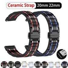 Elegant Ceramic Bracelet Band Strap for Samsung Galaxy Watch 42mm 46mm Active S3
