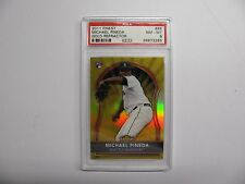 2011 Finest #86 Michael Pineda Gold Refractor #37/50 RC PSA 8  POP 2 none higher