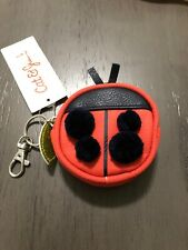 LADY BUG BACKPACK COIN PURSE KIDS KEY RING GIRLS
