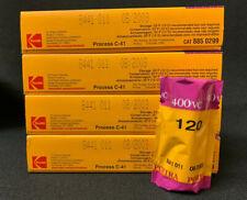 Kodak Professional Portra 400 VC 120  Pro Packs Expired Kept Cooled