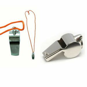 1 PC Coach Signal Referee Loud Whistle Survival Safety Sports Basketball BU-WS01