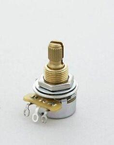 CTS 250K Mini Log Pot Audio Taper Split Shaft
