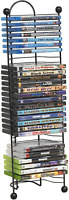 Multimedia DVD Shelf Storage CD Rack Tower Organizer  Stand Shelves Holder Media