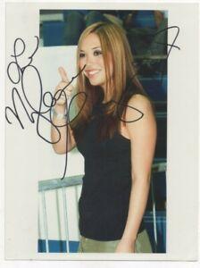8 x 6 photo  hand signed , MYLENE KLASS (HEAR'SAY ) undedicated