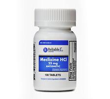 Meclizine 25 mg Generic Bonine Motion Sickness 100 Chew Tablets