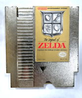 The Legend of Zelda ORIGINAL NINTENDO NES GAME Gold Cartridge NEW SAVE BATTERY!