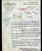 """LE BLANC / PARIS (36 / XIV°) Cafés / TORREFACTION """"AU PLANTEUR DE CAIFFA"""" 1937"""