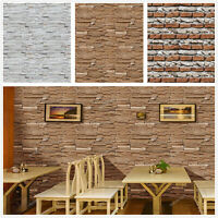 10m Brick Textured Self Adhesive Contact Paper Vinyl Peel and Stick Wall Sticker