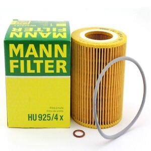 MANN Oil Filter HU925/4x BMW 96-06 3.0L6, 2.8 L6, 2.5L6 see fitment below