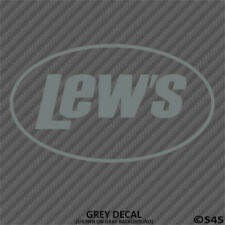 Lew's Fishing Reels & Rods Outdoor Sports Vinyl Decal Sticker -Choose Color/Size