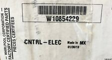 New listing Oem New W10854229 Electronic Control Board Whirlpool Dishwasher Never Used