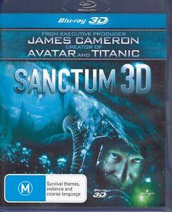 Sanctum 3D BLU-RAY - James Cameron (Titanic & Avatar) Cave Diving Adventure