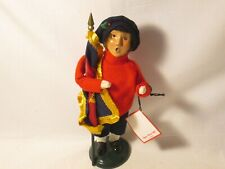 Byers Choice 1997 Salvation Army Boy with Flag