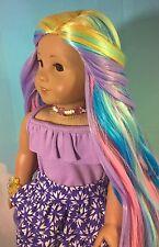 "10-11 Custom Doll Wig fit Blythe-American Girl-1/4 Size Doll ""Spring Basket"" bn1"