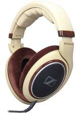 Sennheiser HD 598 Cuffie Over-Ear Open Back. Marrone Crema Avorio.