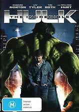 THE INCREDIBLE HULK - BRAND NEW & SEALED DVD -EDWARD NORTON, LIV TYLER, TIM ROTH