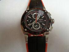 NICE! Seiko Sportura Honda F1 Racing Chronograph Sapphire Watch 7T62-0GR0