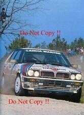 MARKKU ALEN MARTINI LANCIA DELTA HF 4x4 Rally Portogallo fotografia 1987 2