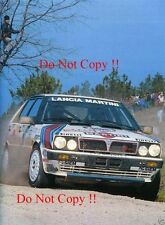 Markku Alen Martini Lancia Delta HF 4WD Portugal Rally 1987 Photograph 2