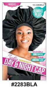 MAGIC COLLECTION WOMEN'S JUMBO PLUS DAY & NIGHT CAP 2283BLA + PREMIUM DELIVERY