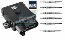 Glow Plug Control Unit Relay Module & Glow Plugs BMW E53 E70 X5 3.0d,3.0sd BERU