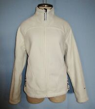 Chico Free Country Off White Front Zip Cold Weather Fleece Jacket Size S ( 6 - 8