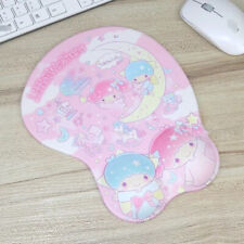 Cute 3D Little Twin Star Wrist Mat Mice Rest Protect Computer Laptop Mouse Pad