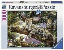 Ravensburger Leopard Family Jigsaw Puzzle 1000pc