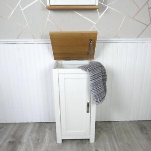 White Painted Laundry Bin 480P