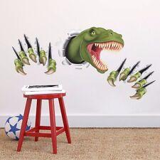 Wandsticker Wandtattoo Dino Jurassic Aufkleber Tiere Zimmer T-Rex Sticker Junge