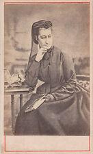 Photo cdv : Teruel ; Isabelle d'Orléans , Comtesse de Paris , vers 1872